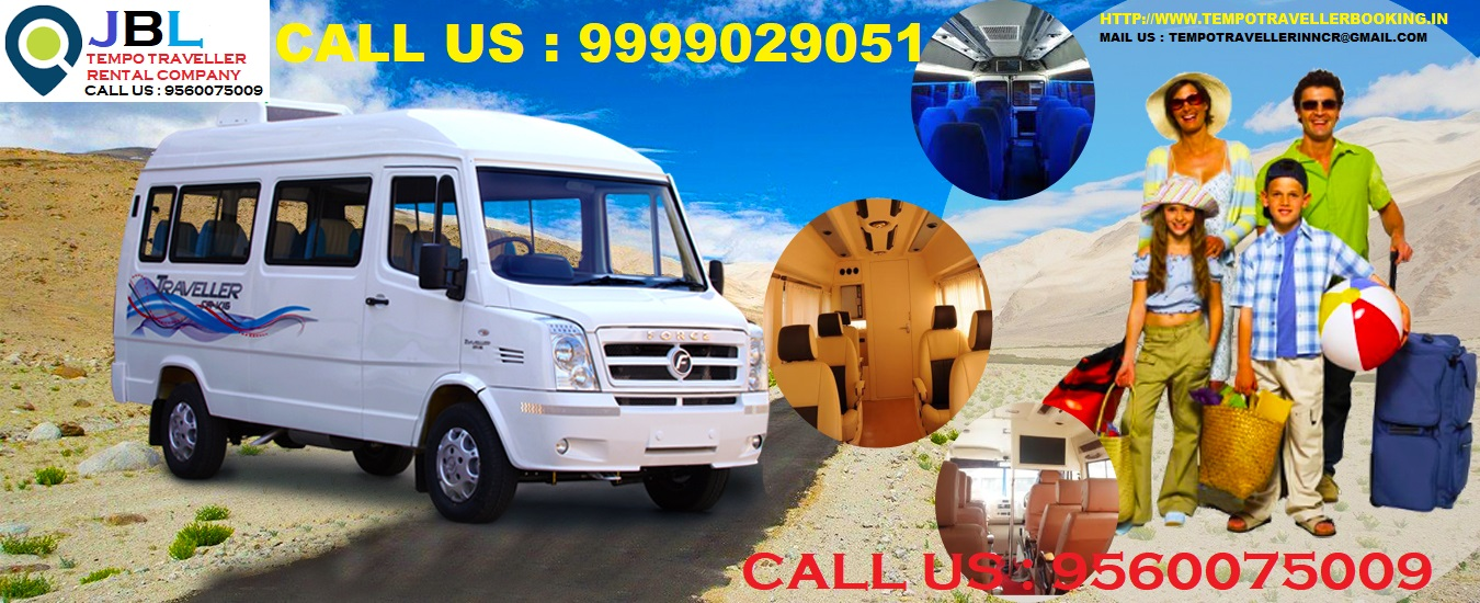 Tempo traveller on rent for Mehandipur Balaji rajasthan